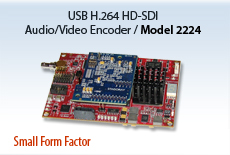 HD-SDI Audio/Video H.264 Encoder