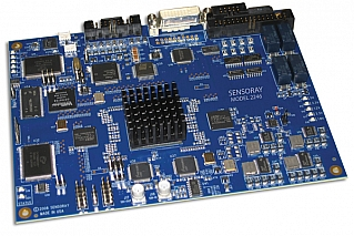 Model 2246 HD-SDI video processor/capture card with overlay