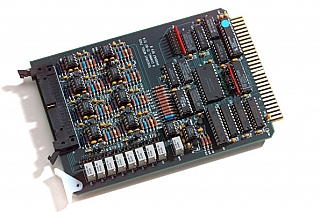 Model 7405 8-channel analog output board